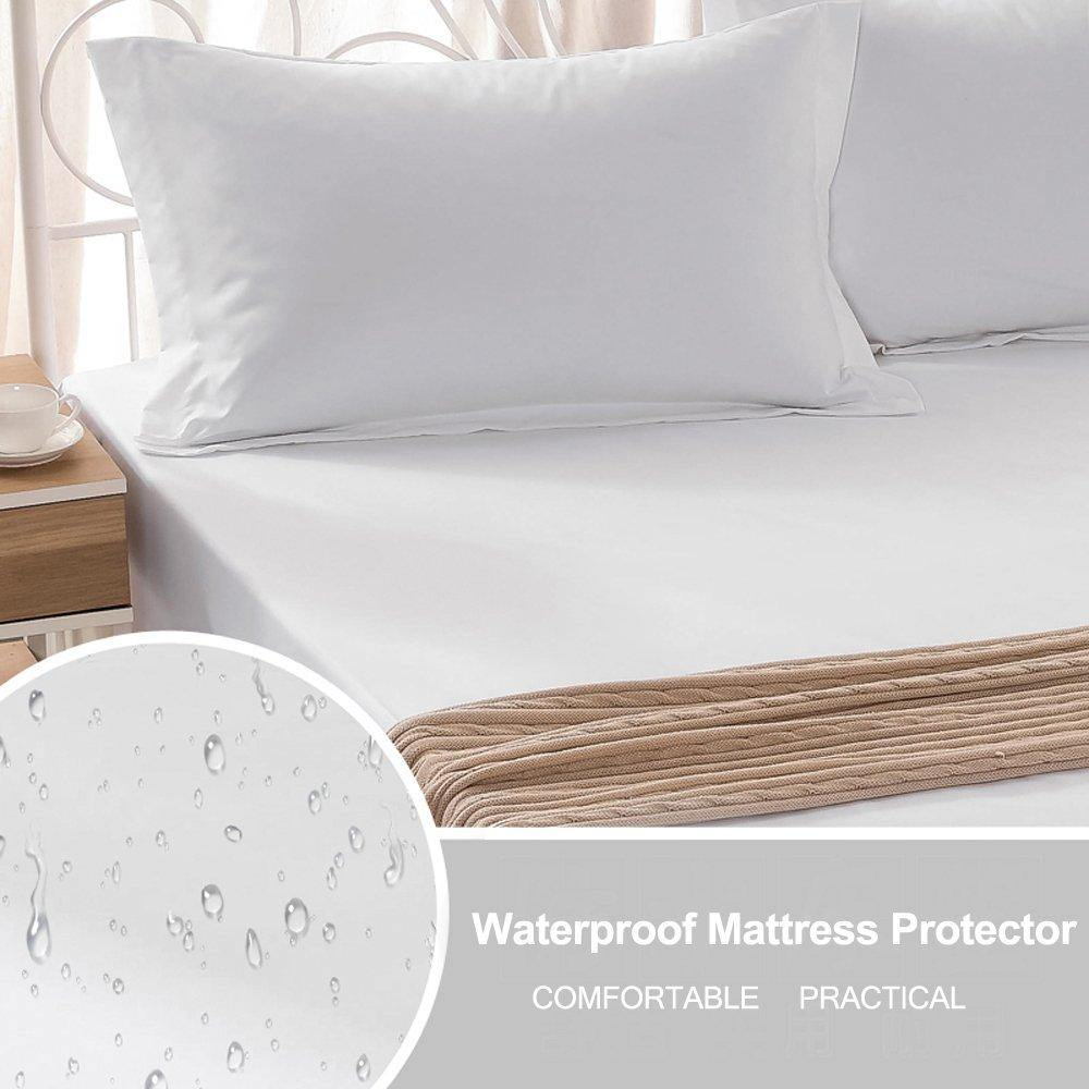 NTBAY King Size Premium Hypoallergenic Waterproof Mattress Protector - NTBAY