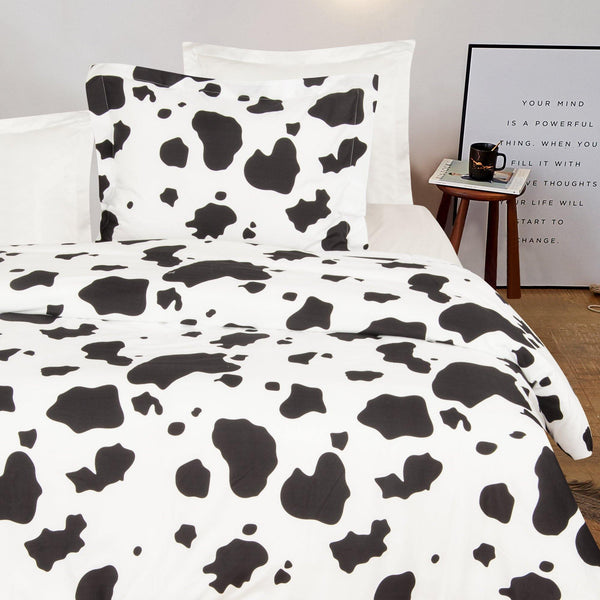 NTBAY Duvet Cover Set Cow