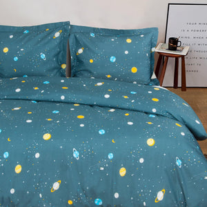 NTBAY Duvet Cover Set Space