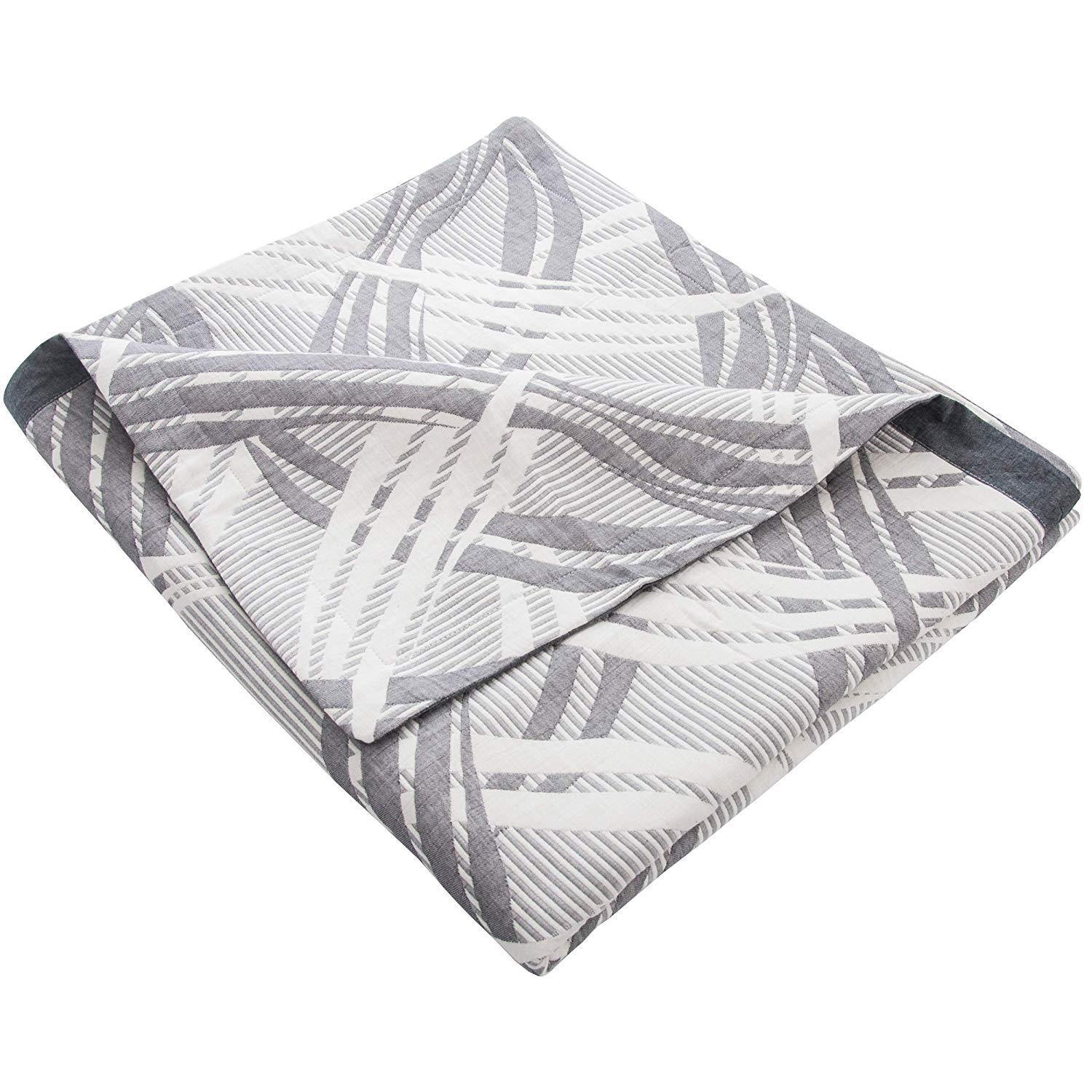 NTBAY 3 Layer Cotton Toddler Blanket