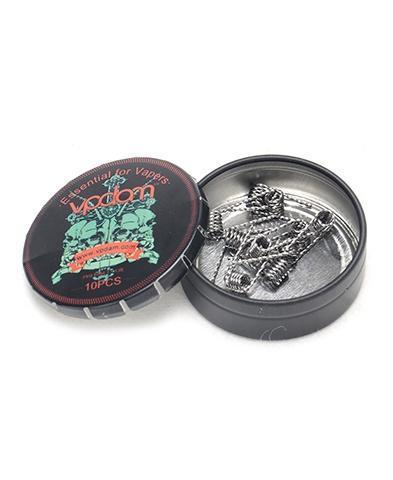 Vpdam Flat Twisted Pre-built Coils (10pc) (42154491930)