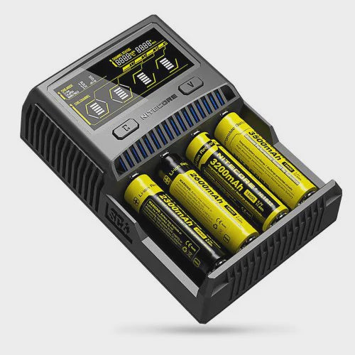 Nitecore Superb Charger SC4 3 Amp Charger (4 Bay)