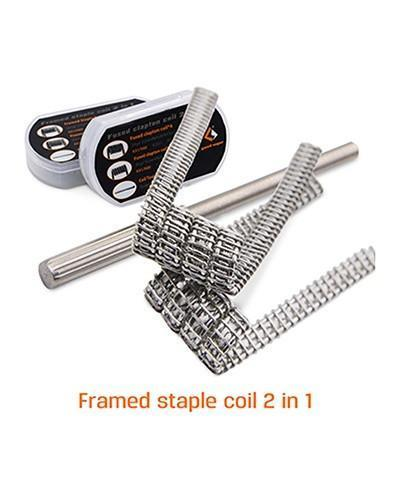 GeekVape Framed Staple Clapton Coil (8pc) (15067578394)