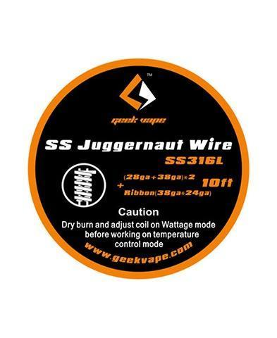 Geekvape SS Juggernaut Wire (10ft)