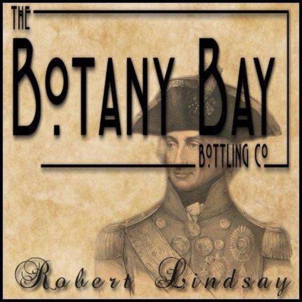 Robert Lindsay e-liquid by Botany Bay Bottling Co