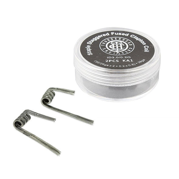 ThunderHead Creations Staple Staggered Fused Clapton Coils (2 Pack) (201848225818)