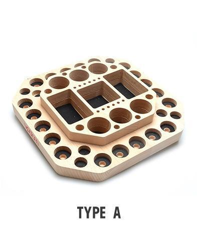Vpdam Wooden Base Atomiser Stand (15070756890)