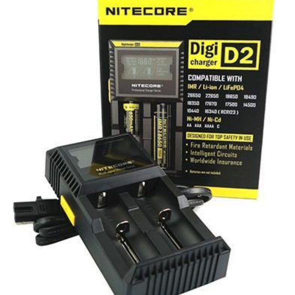 Nitecore Digicharger D2 (2 Bay) (11736317978)