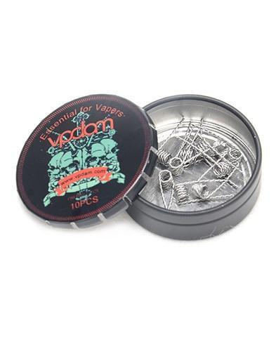 Vpdam Twisted Pre-built Coils (10pc)