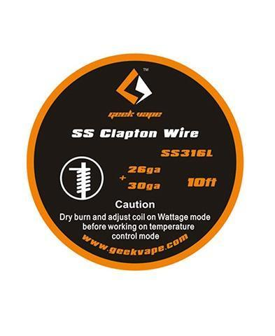 Geekvape SS Clapton Wire (10ft)