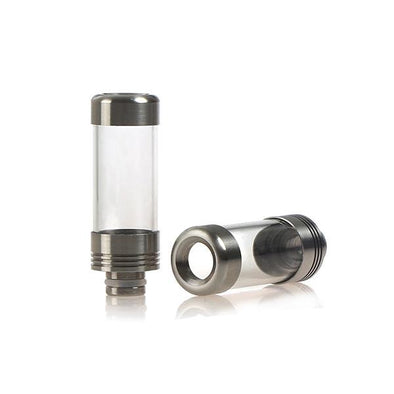 Glass & Stainless Steel Wide Bore Drip Tip (139069489178)