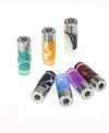 Stainless Steel Acrylic Coloured Drip Tip