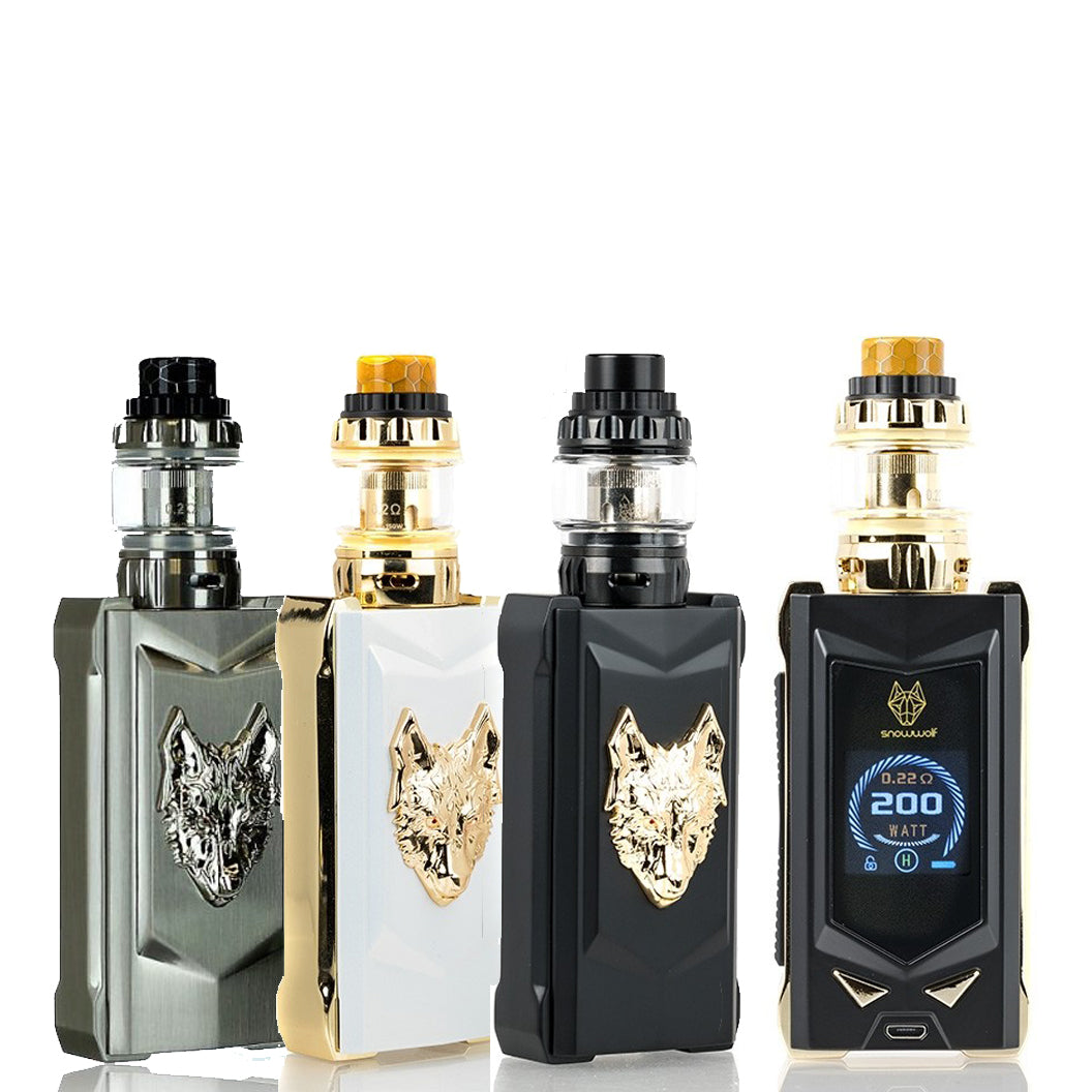 sigelei snowwolf mfeng 200w kit w wolf tank the vape store