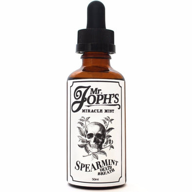 Spearmint Death Breath E-Liquid by Mr Joph's Miracle Mist
