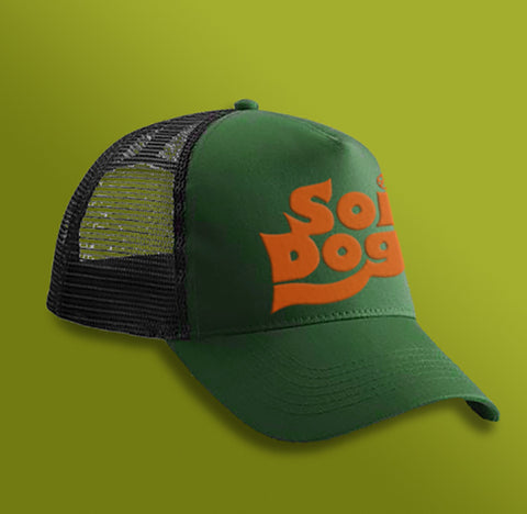 TRUCKER CAP - GREEN - UNISEX