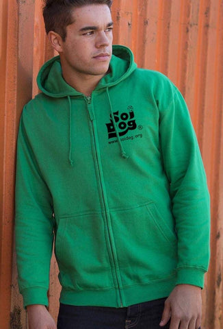 Go Green Zip Up Hoodie Unisex