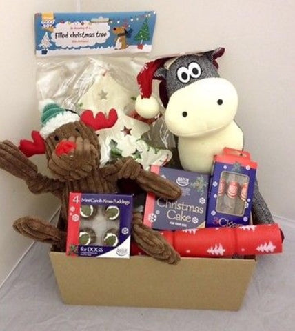 Christmas gift pack for our shelter dogs