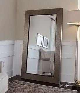 Large Full Length Leaner Floor Mirrors