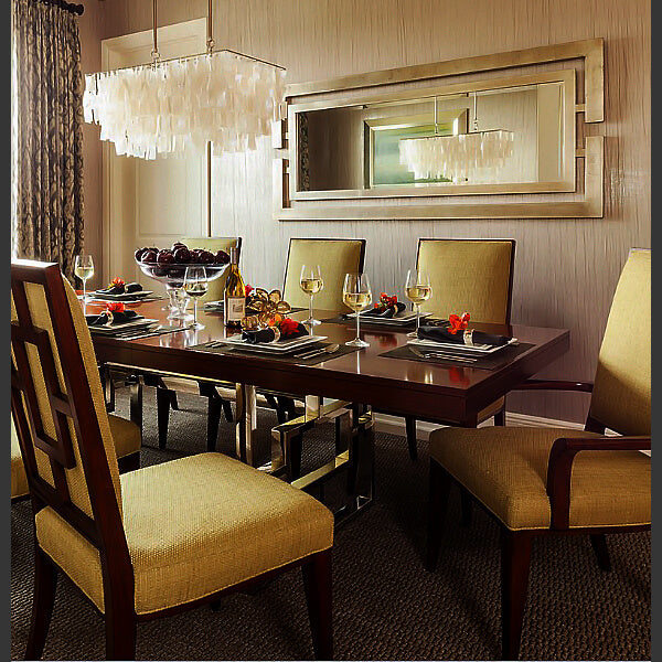 Large mirrors for dining room
