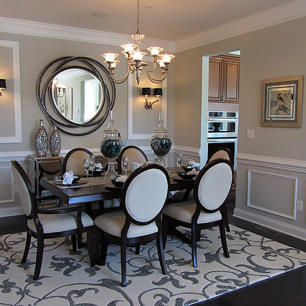 Dining Room Mirror Decorating Ideas - [peenmedia.com]