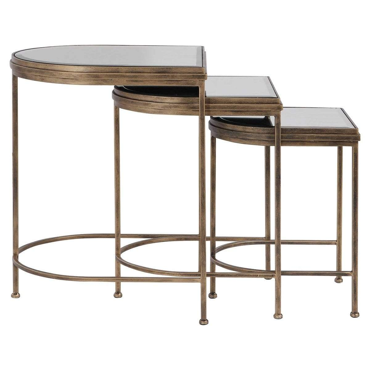 Picture of: Uttermost India Nesting Tables Set Of 3