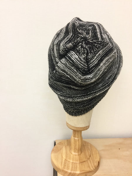 Knitted Crochet black