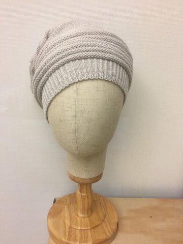Knitted Crochet-gray