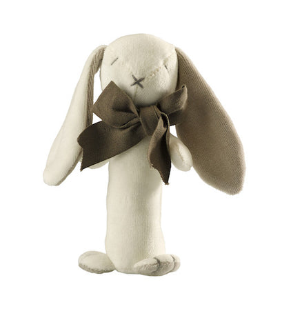 CHARLI - Maud n Lil - Ears the Bunny Rattle Stick - 1