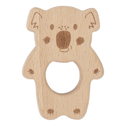 Banjo Kippin Beech Wood Teething Toy