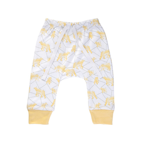 CHARLI - Sapling - Galaxy Bear Yellow Pants