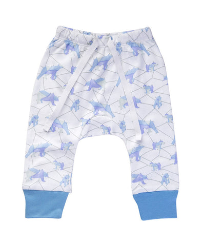 CHARLI - Sapling - Galaxy Bear Blue Pants - 1