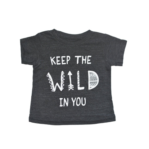 CHARLI - Little Urban Apparel - Keep The Wild In You Tee