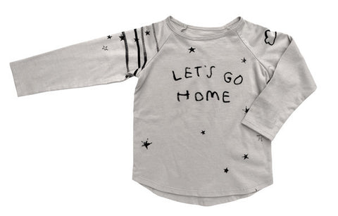 CHARLI - Kid+Kind - Let's Go Long-Sleeve Raglan Tee