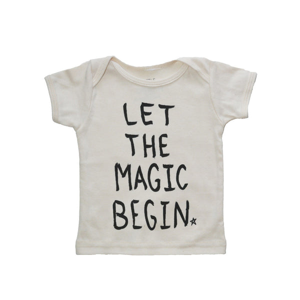 CHARLI - Little Urban Apparel - Let the Magic Begin Tee - 1