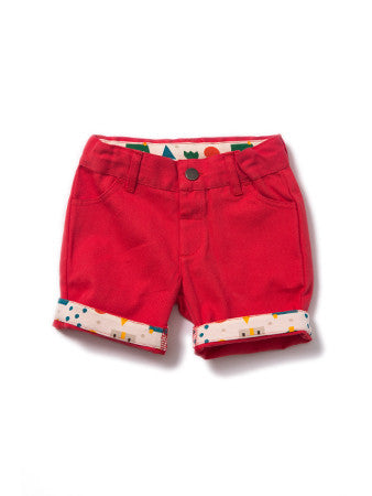 Pillar Box Red Shorts