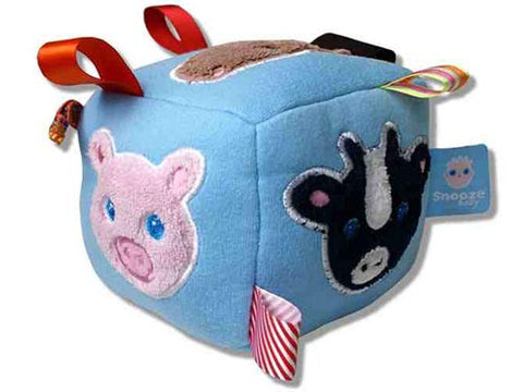CHARLI - Snoozebaby - Soft Toy - Animal Cube - 1