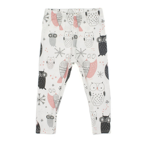 CHARLI - Ollie Jones Clothing - Snowy Owl Leggings