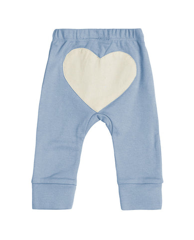 CHARLI - Sapling - Little Boy Blue Heart Pants - 1
