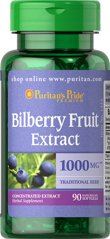 Bilberry 4:1 Extract 1000 mg