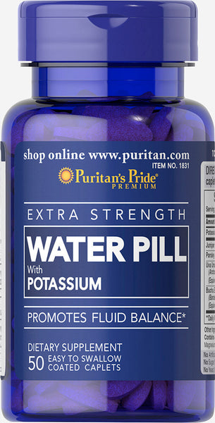 Puritan's Pride Extra Strength Water Pill™ Item #001831
