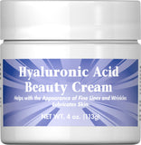 Puritan's Pride Hyaluronic Acid Beauty Cream 4 oz Cream / Item #015479 - Puritan's Pride Singapore