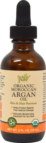 Perfectly Pure Moroccan Argan Oil 2 oz Oil / Item #052903 - Puritan's Pride Singapore