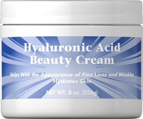 Puritan's Pride Hyaluronic Acid Beauty Cream 8 oz Cream / Item #054957 / Item #54957