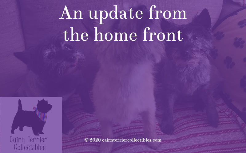 An update from the home front - Cairn Terrier Collectibles