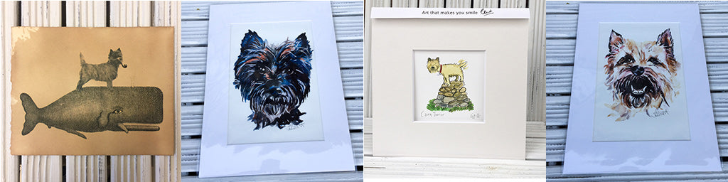 Cairn Terrier prints