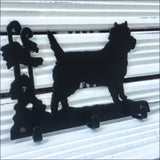 Three hook Cairn Terrier key rack - Cairn Terrier Collectibles