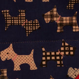 Blue Terrierist Bandana - Slip-on, double layer (Medium) - Cairn Terrier Collectibles