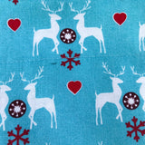 Winter Wonderland Bandana - Slip-on, double layer (Medium) - Cairn Terrier Collectibles