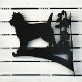 "Cairn Terrier 13"" Hanging Brackets - Cairn Terrier Collectibles"