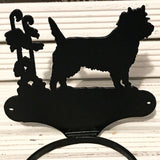 Cairn Terrier Pottee for 12.5cm plant pots - Cairn Terrier Collectibles
